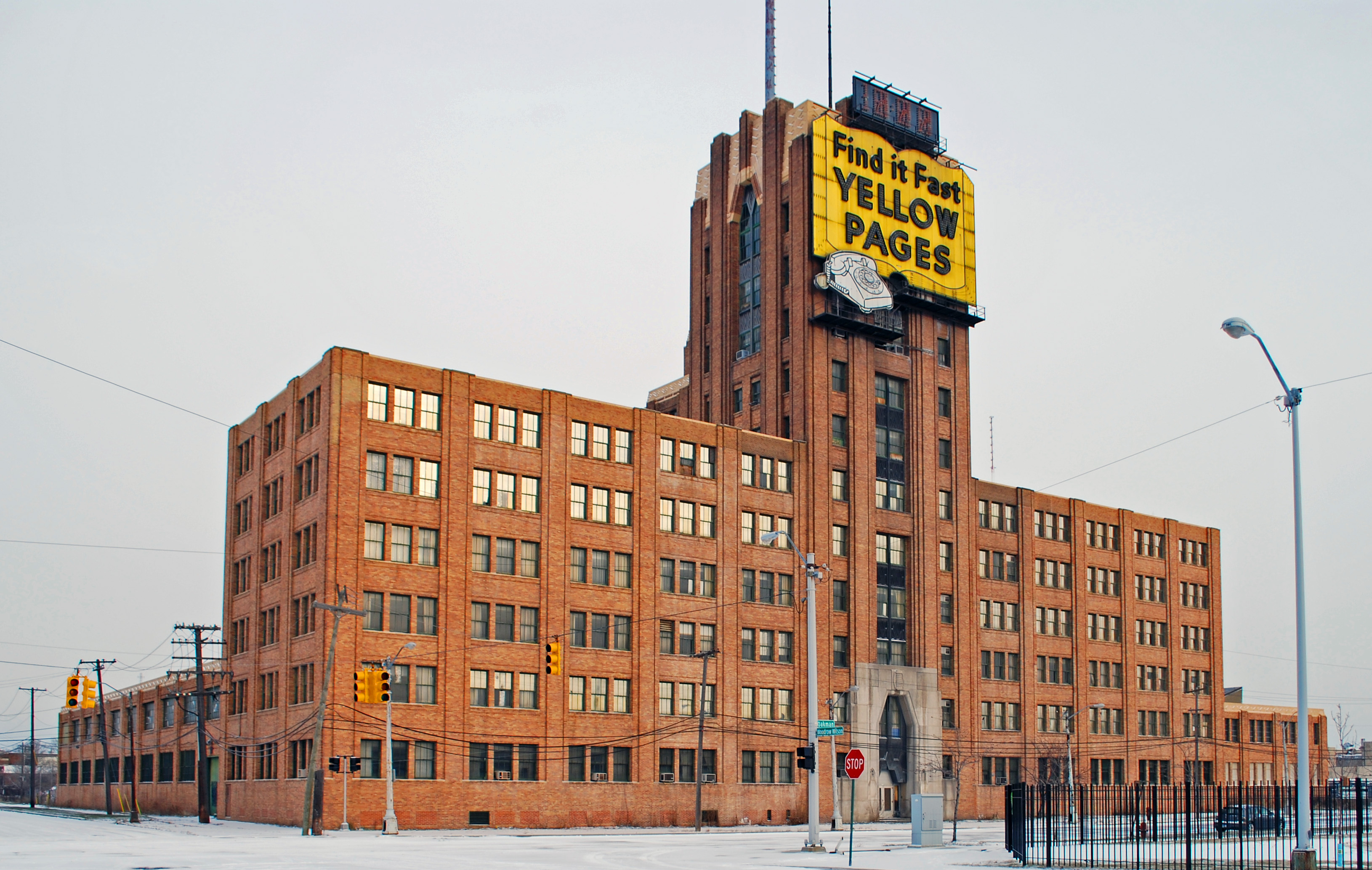 Michigan Bell and Western Electric Warehouse - Wikipedia