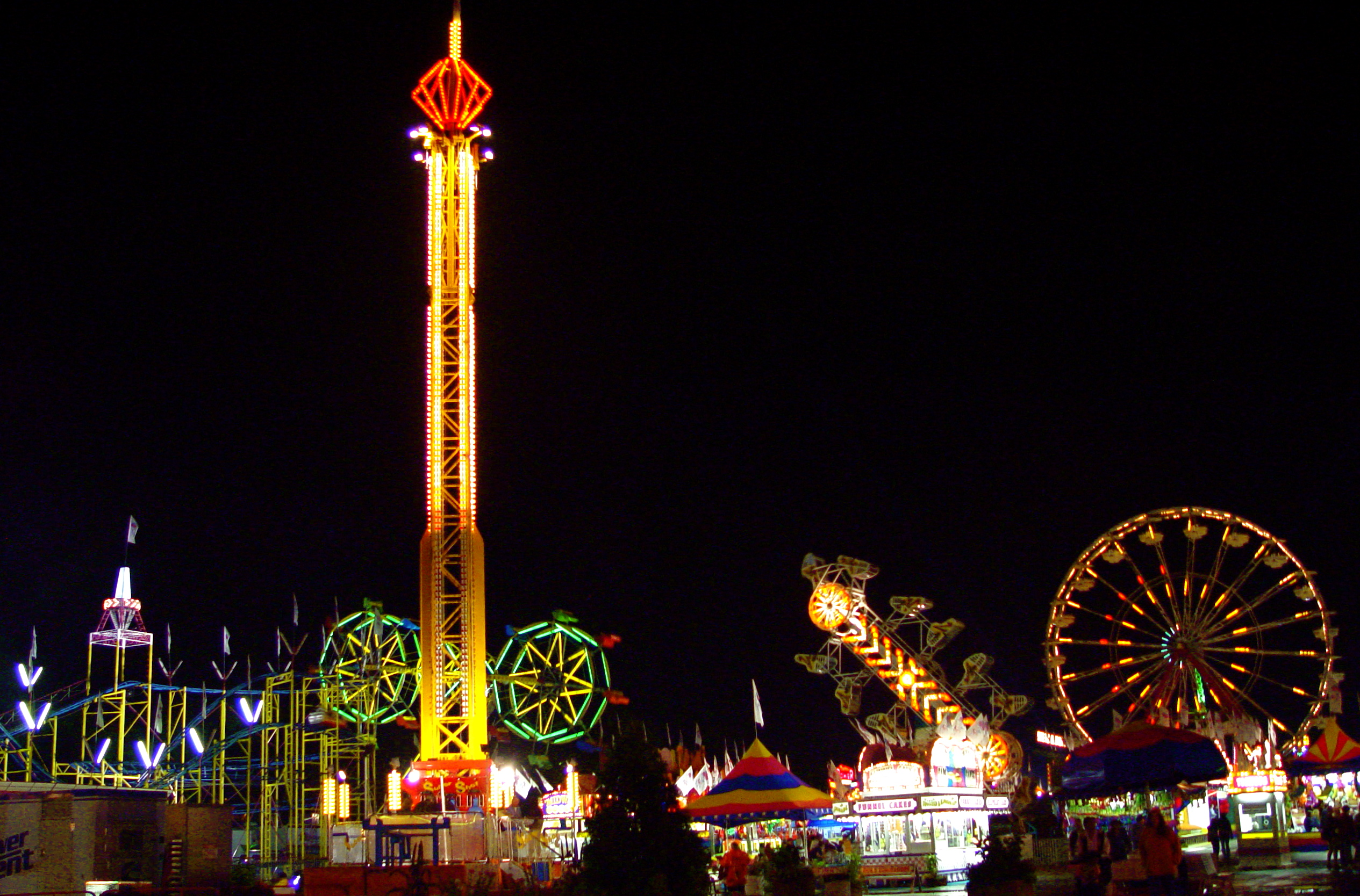 Description Midway-Minnesota State Fair-2006.jpg