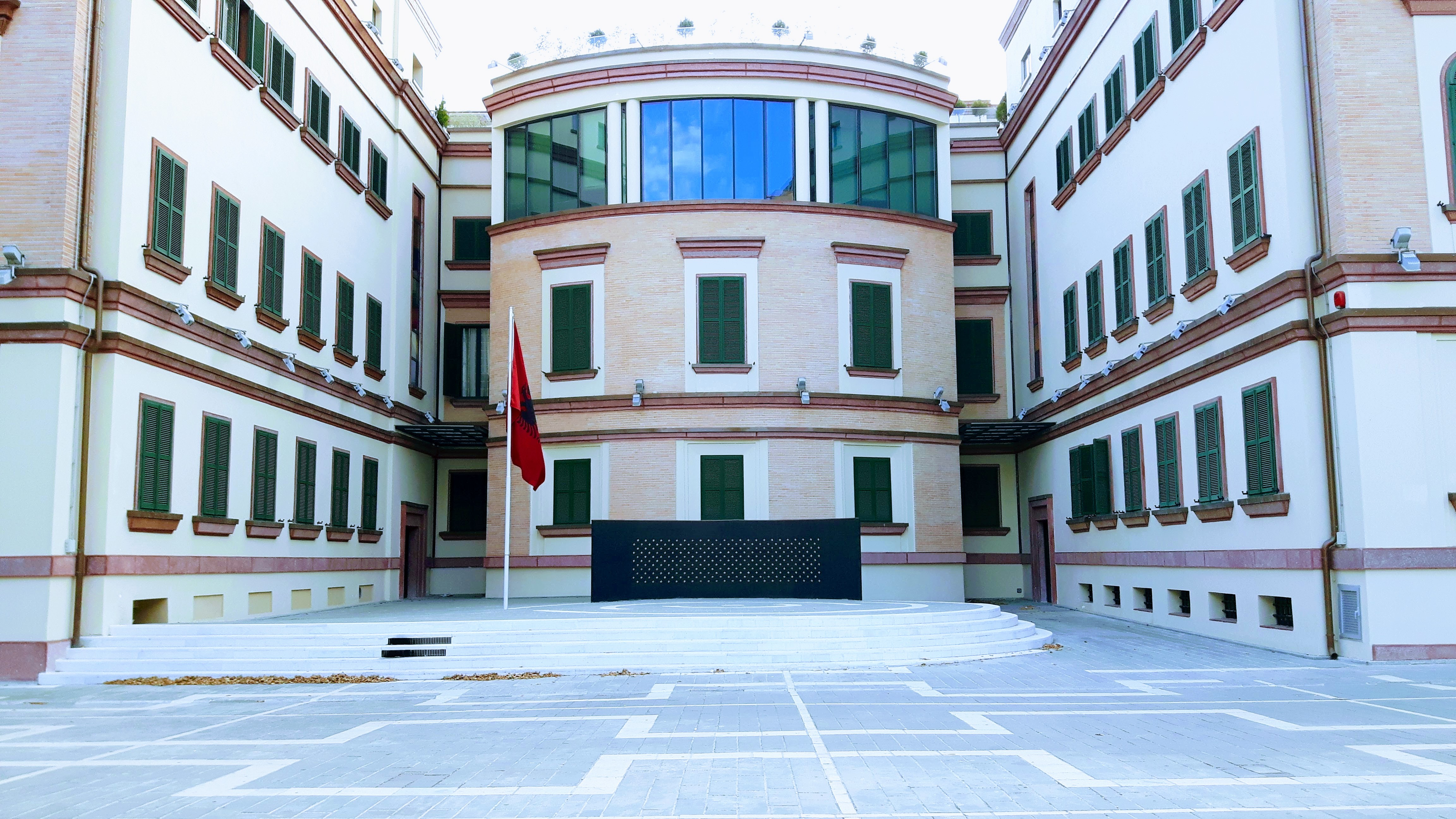Ministria e Brendshme (Tiranë) - Wikipedia