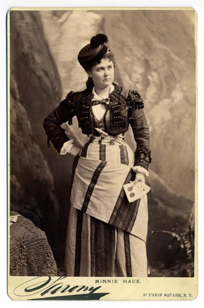 Minnie Hauk - Wikipedia