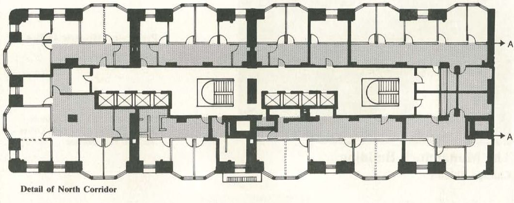 File:Monadnock_Detail_of_North_Corridor on Floor Plan Drawing