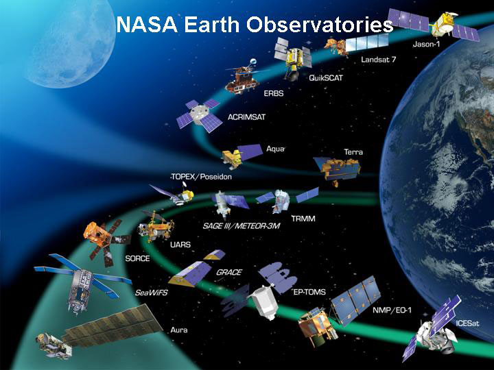 Global Earth Satellite NASA - Pics about space