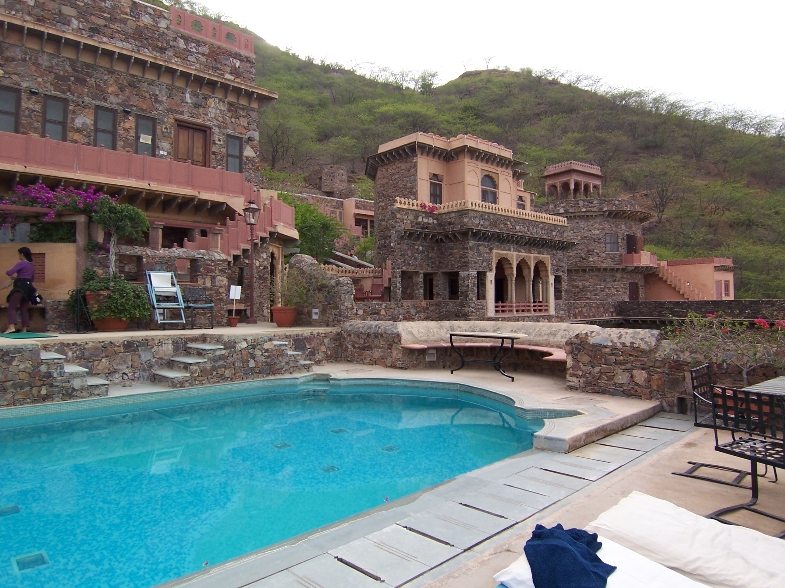 Floor Plan For Spa File Neemrana Fort Palace Pool Jpg Wikimedia Commons