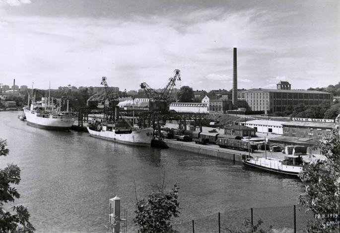 Norra Hammarbyhamnen 1949
