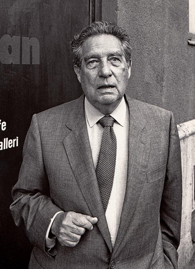 Depiction of Octavio Paz