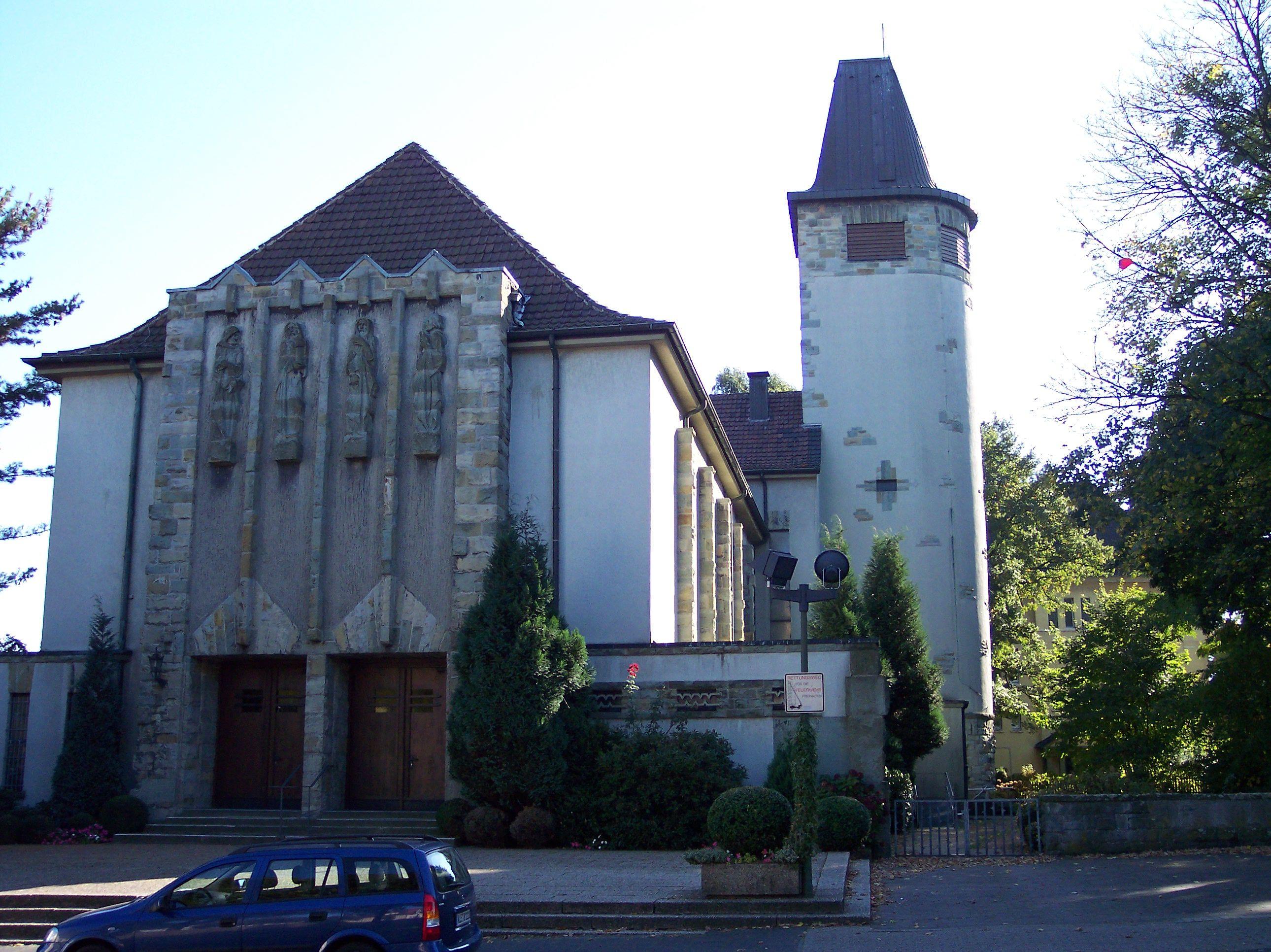 DateiOerErkenschwick ChristusKönigKirchejpg – Wikipedia