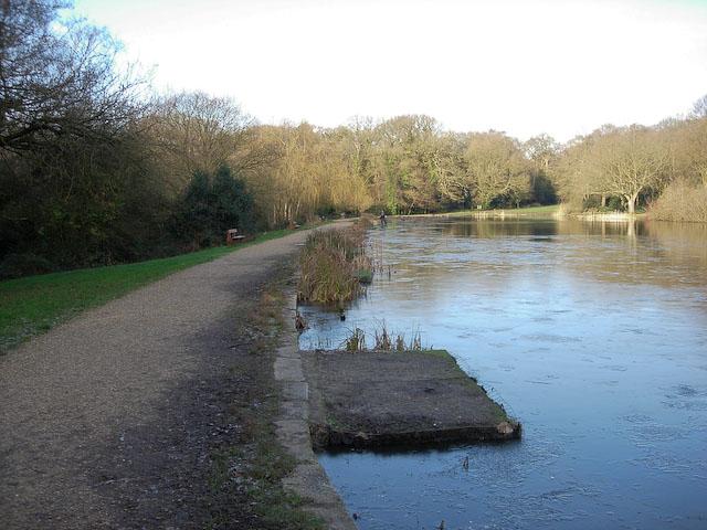 Ornamental Lake, Southampton Common - geograph.org.uk - 1039741