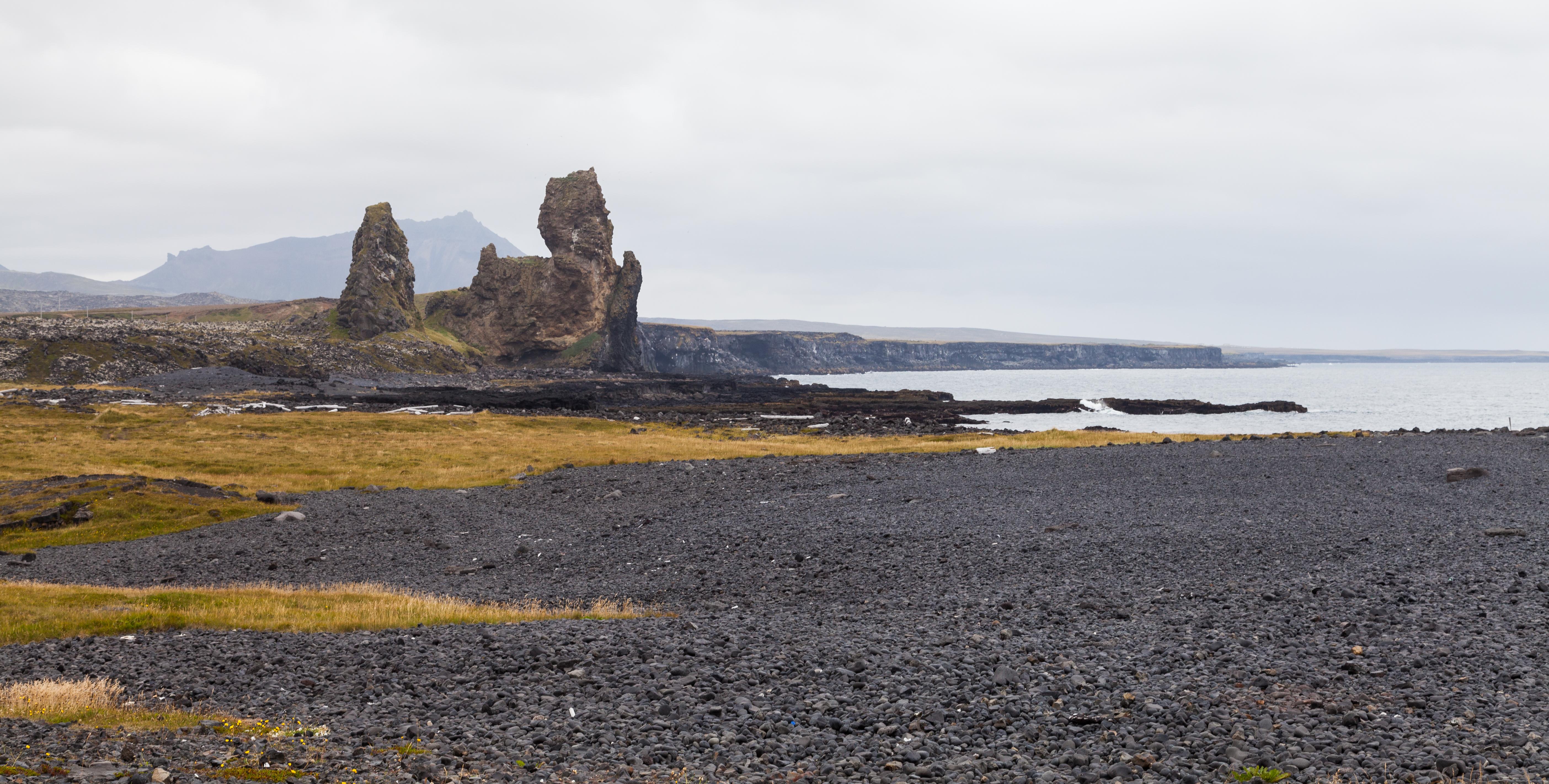Ficheiropaisaje En Malarrif, Vesturland, Islandia, 2014