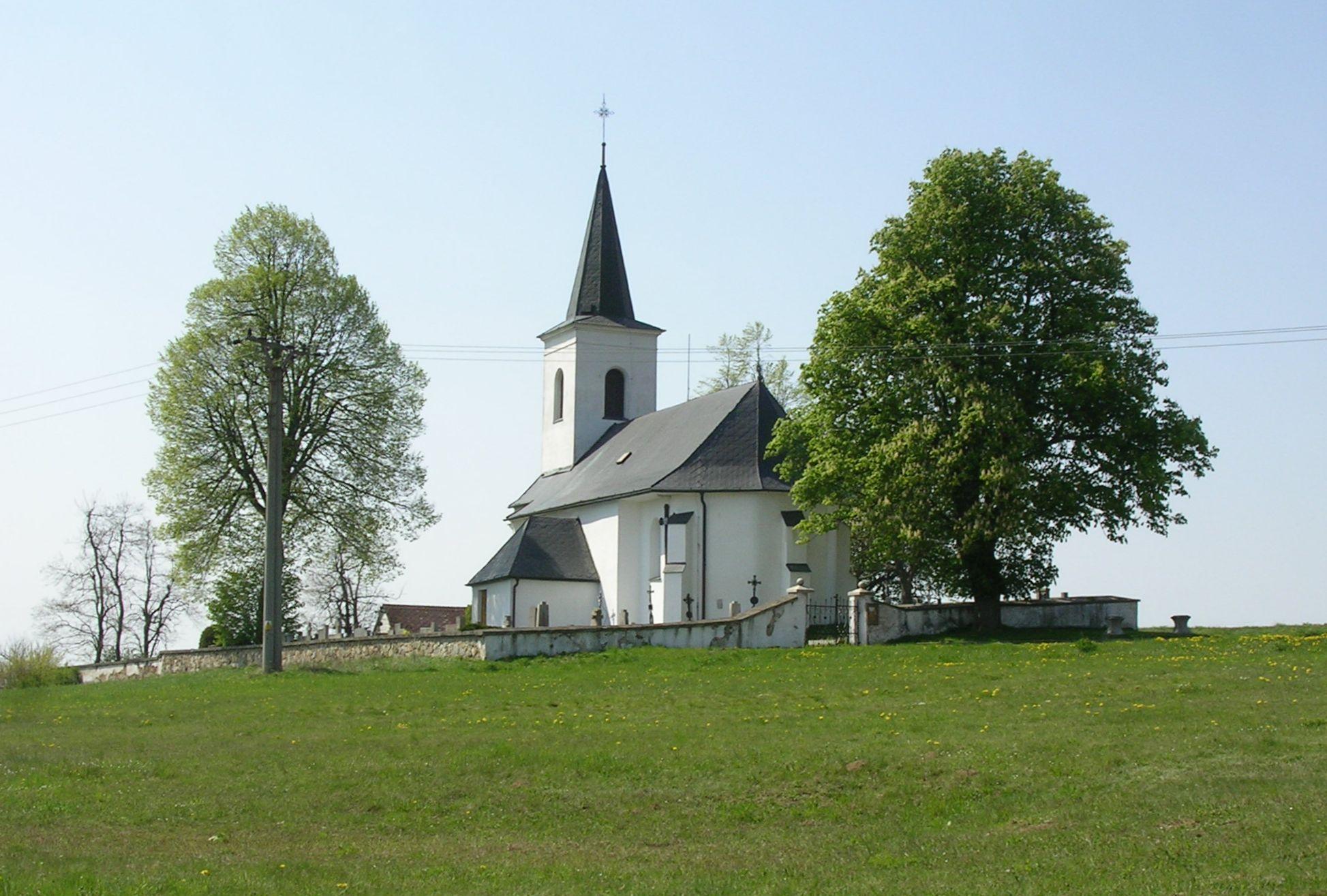 kostel sv. Václava v Palupíně