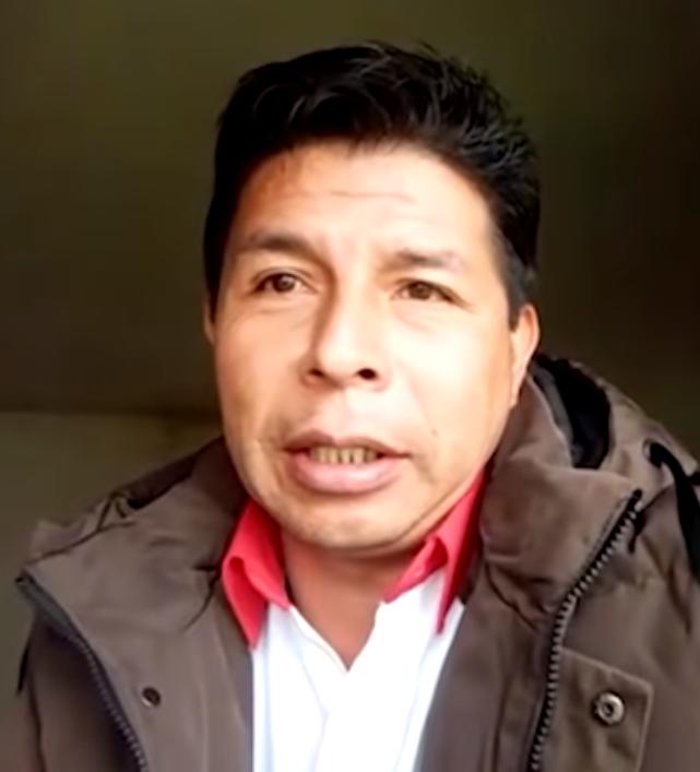 Perú. maestro izquierdista GANA la primera vuelta presidencial
