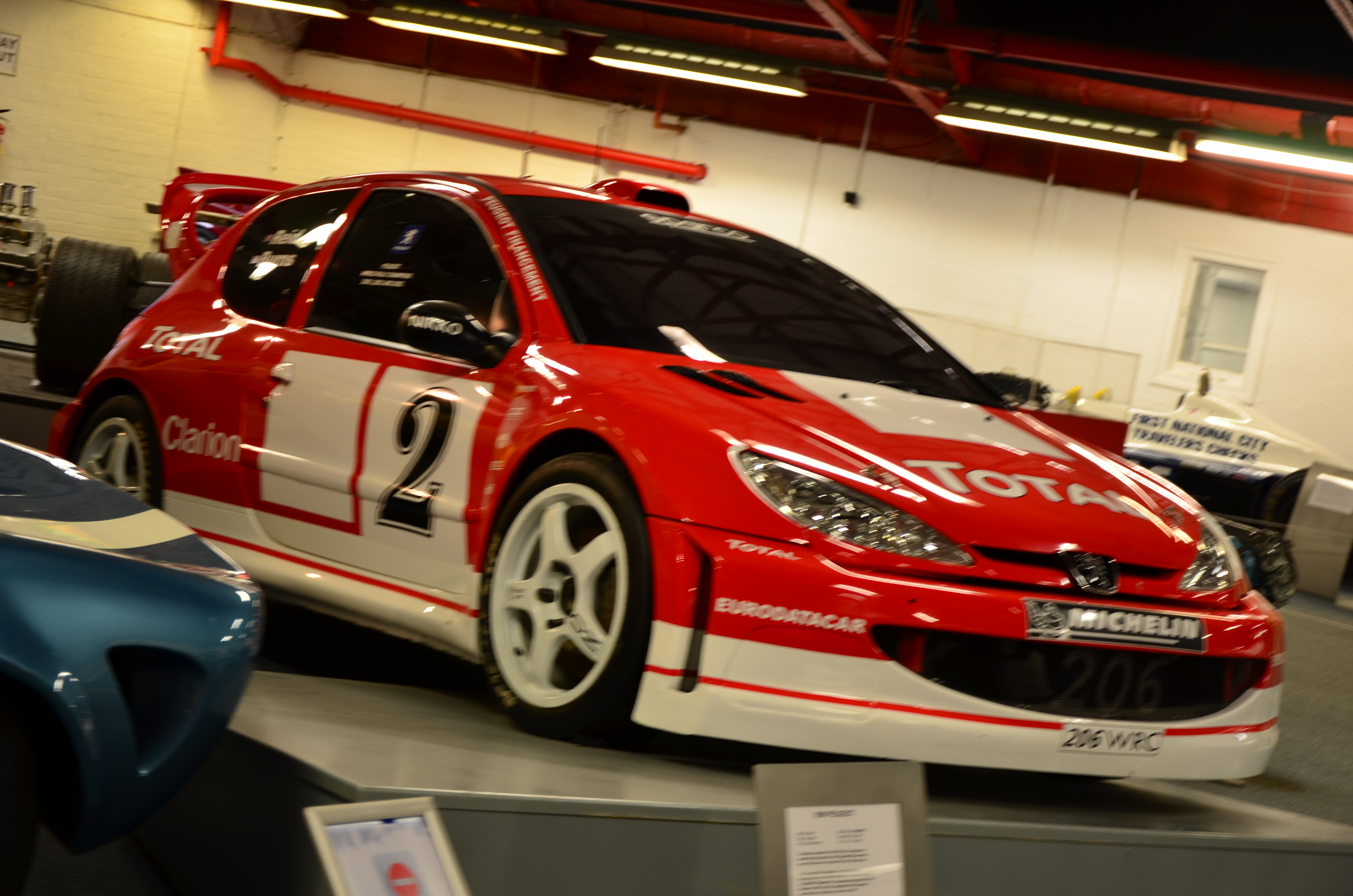File:Peugeot rally car at Coventry Motor Museum.jpg - Wikimedia Commons