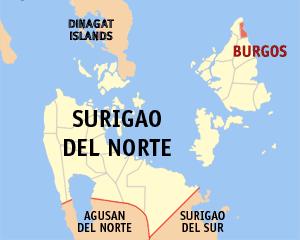 Burgos, Surigao del Norte Municipality in Caraga, Philippines