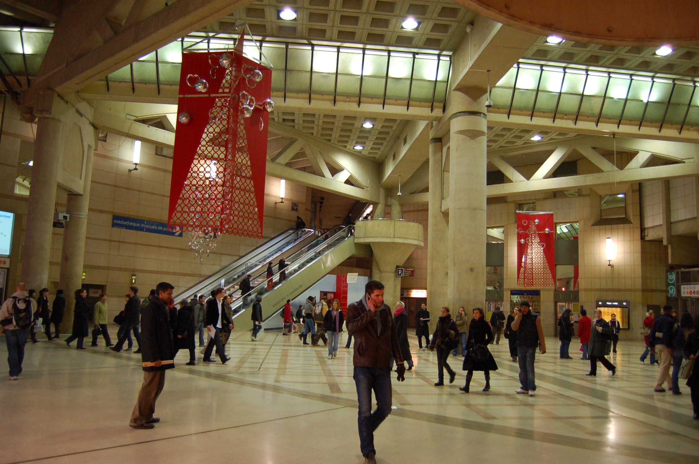 File place carr e forum des halles jpg wikimedia commons - Maison du monde forum des halles ...