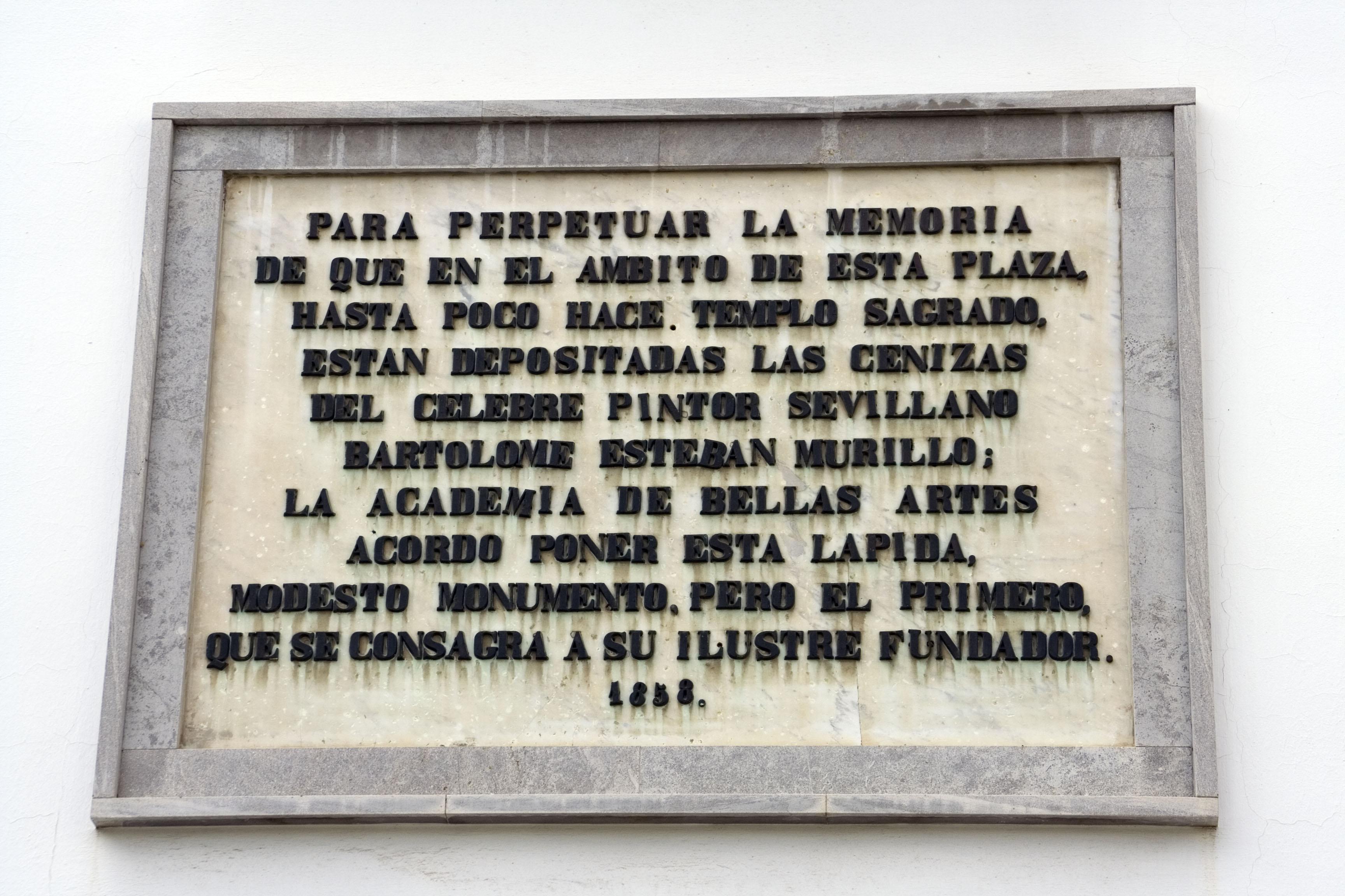 Resultado de imagen de plaza santa cruz murillo sevilla