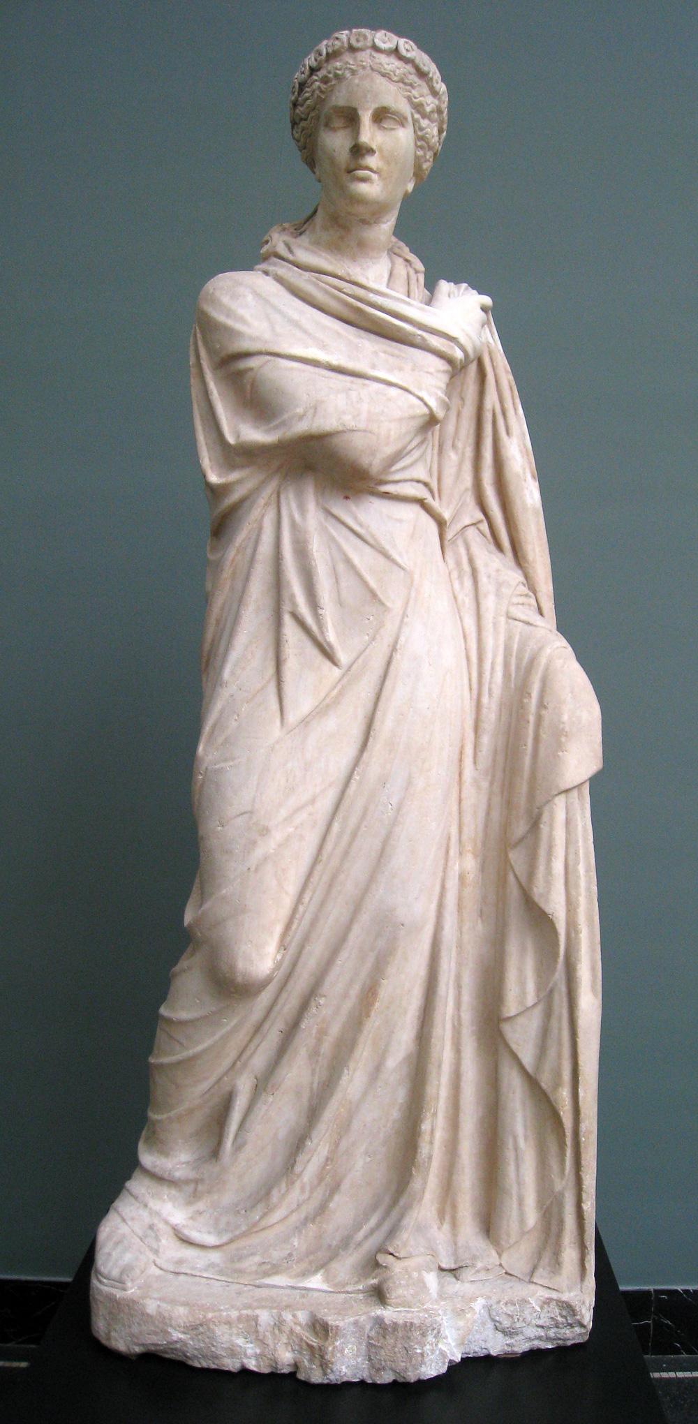 muse of rhetoric in Greek mythology
