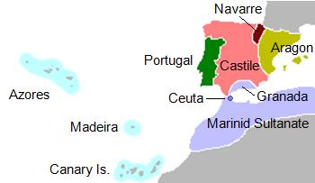 Portugal in 1415.