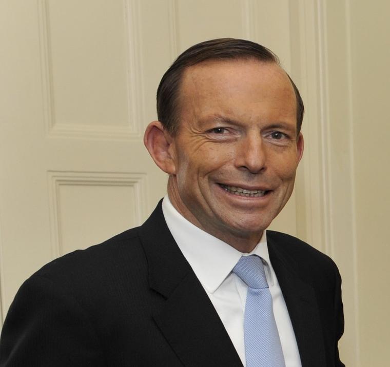 Depiction of Tony Abbott