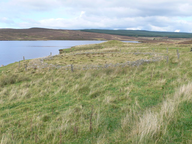 Ring Cairn, east of Llyn Brenig - geograph.org.uk - 982059
