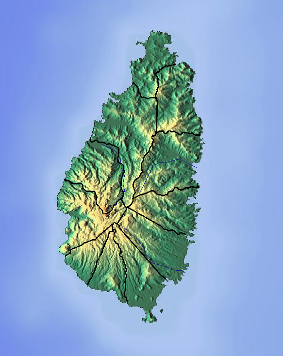 FileSaint Lucia location map Topographicpng Wikimedia Commons