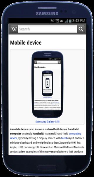 Samsung Galaxy S III - Viquipèdia, l'enciclopèdia lliure