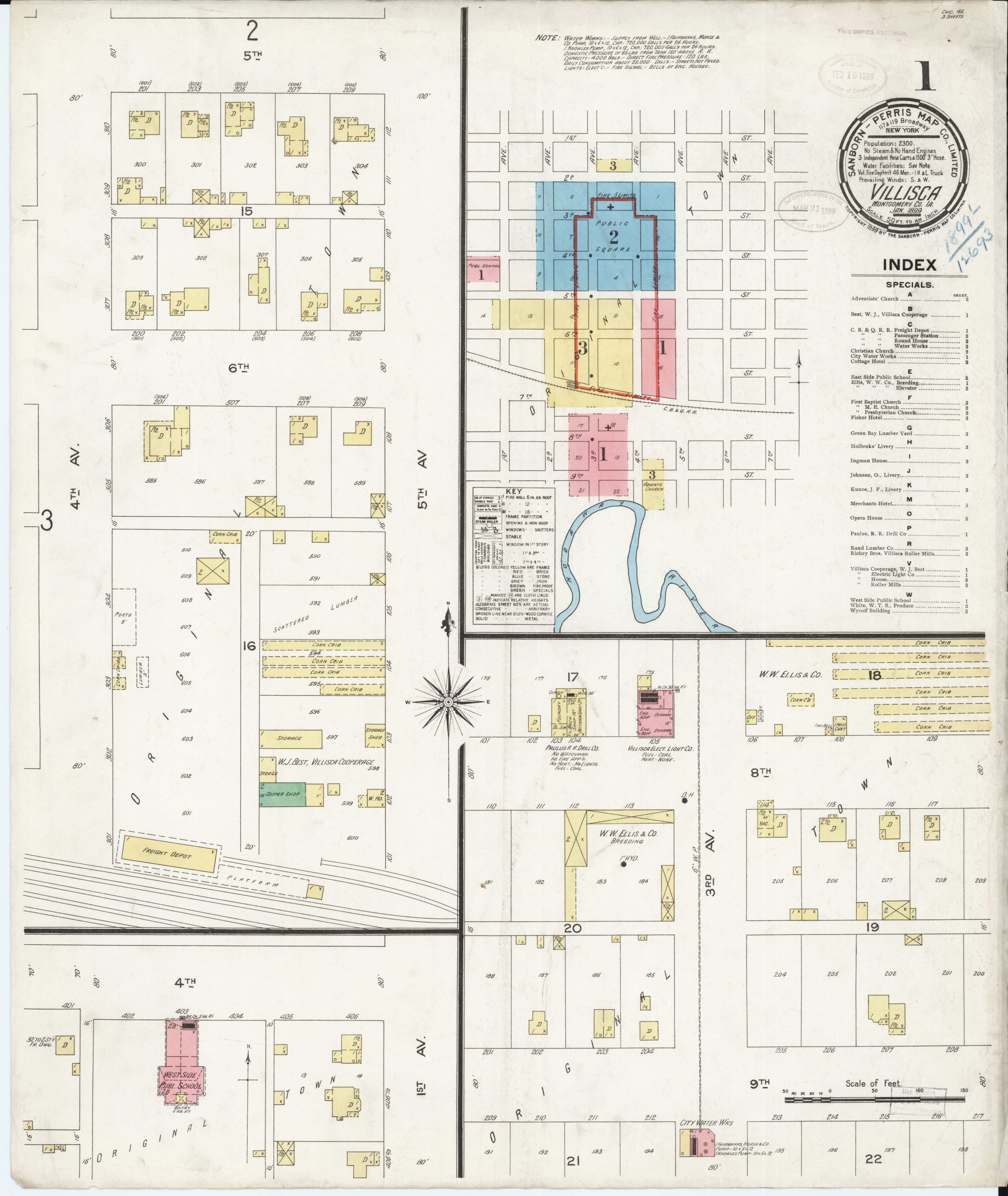 File Sanborn Fire Insurance Map From Villisca Montgomery County