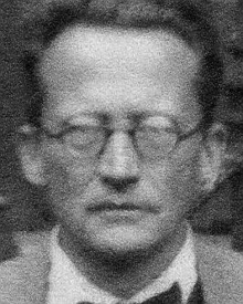 Erwin Schrödinger, London 1934.