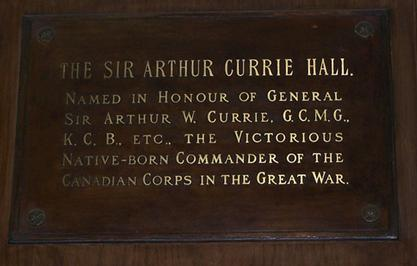 sir arthur currie hero of canada Sir arthur william currie was born on august loyal servant to canada he hold the record for being the lowest strength soldier to ever earn a battle hero.