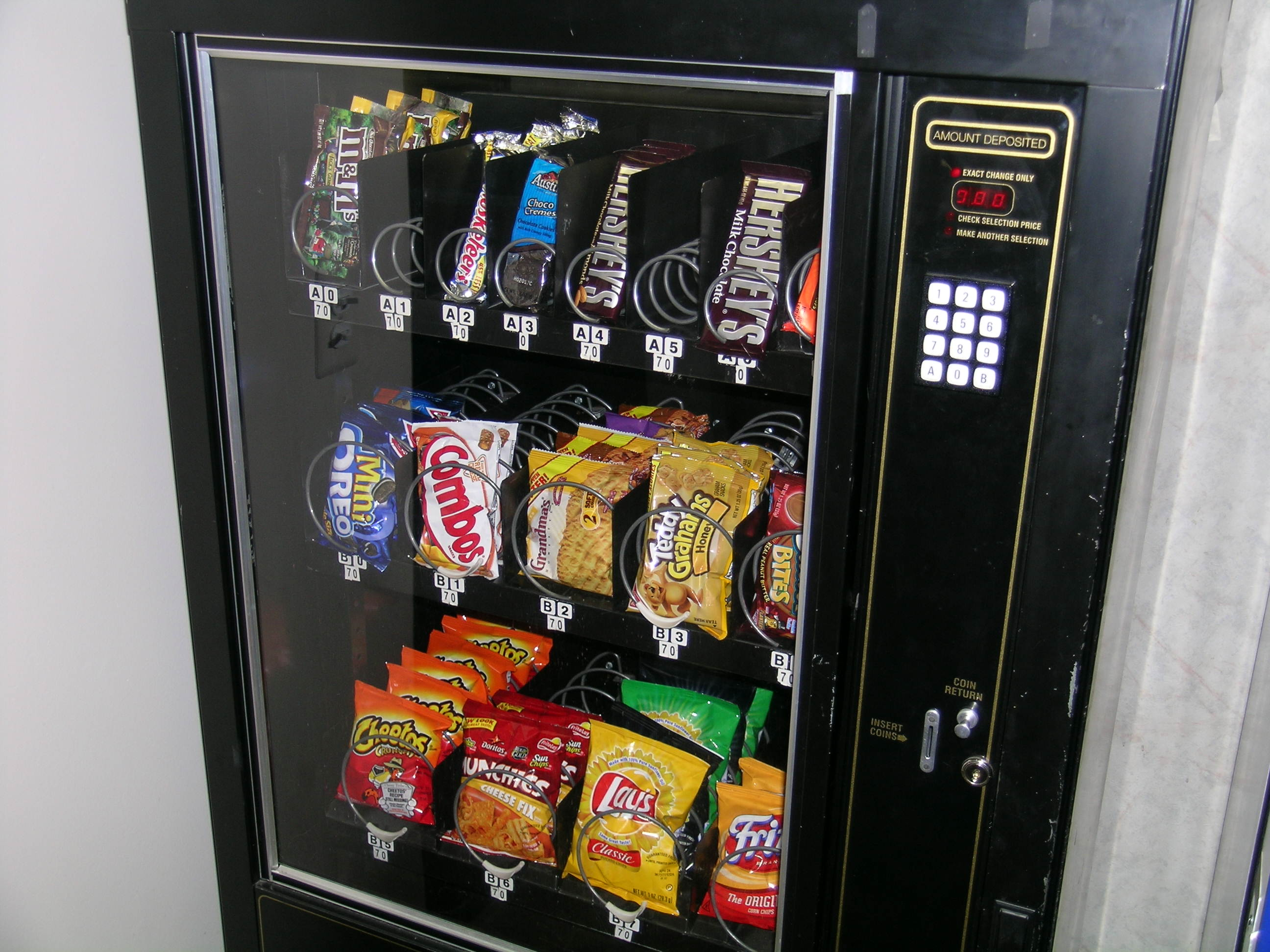 Description snack machine 3538 jpg