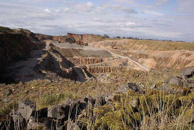 Southeastern edge of Wardlow Quarry - geograph.org.uk - 366141