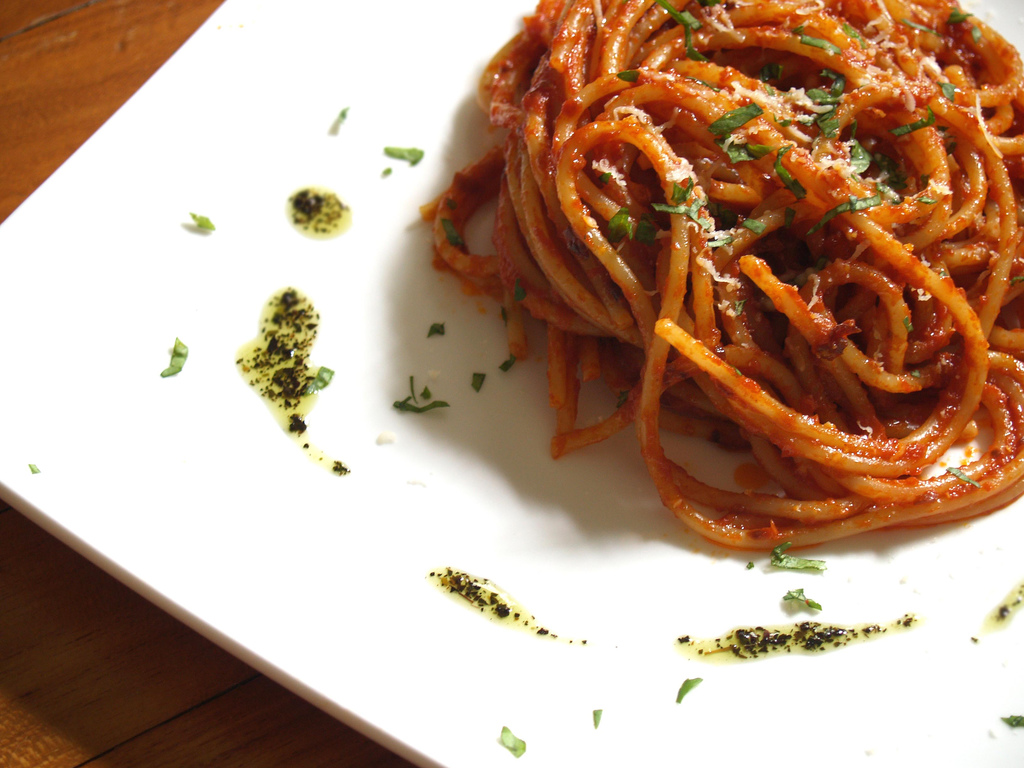 File spaghetti all 39 wikimedia commons for American cuisine dishes