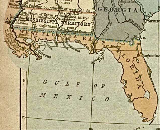 FileSpanish Florida Map 1803jpg  Wikimedia Commons