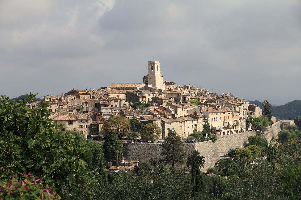 Vence France  city photo : St Paul de Vence Lunon Wikimedia Commons