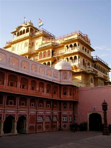 Stadtpalast in Jaipur - Pink City