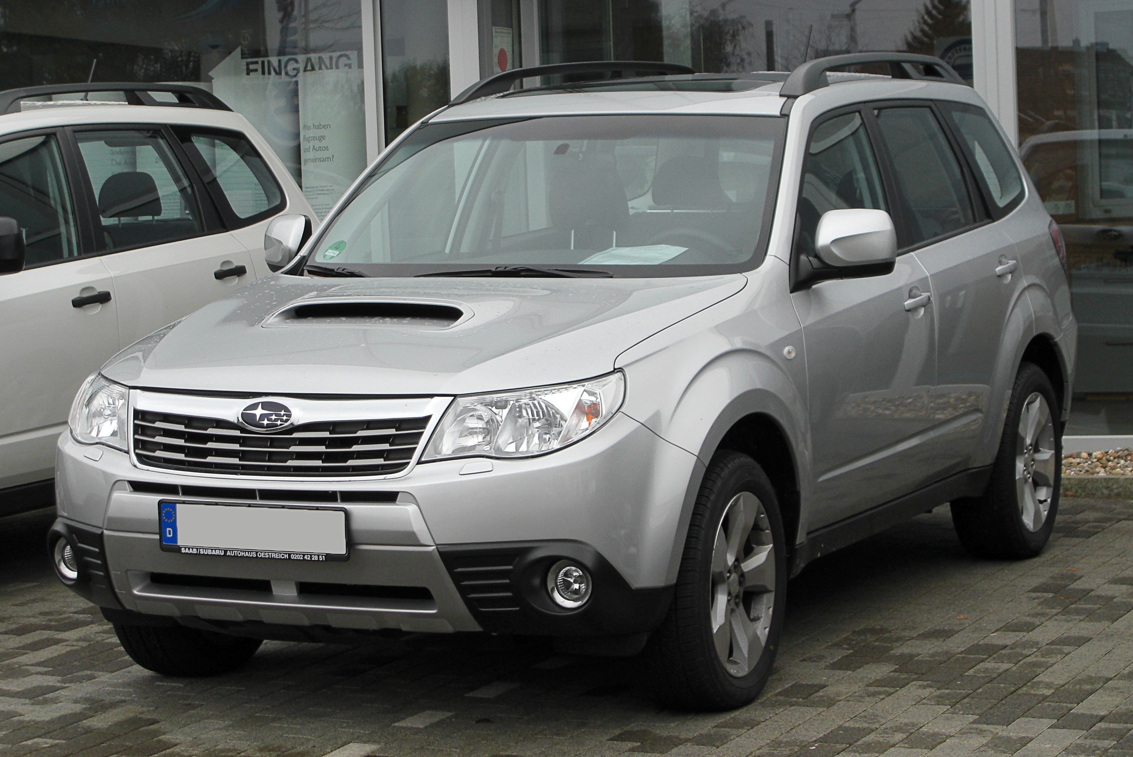 File Subaru Forester Iii 2 0d Exclusive Front 20101017 Jpg