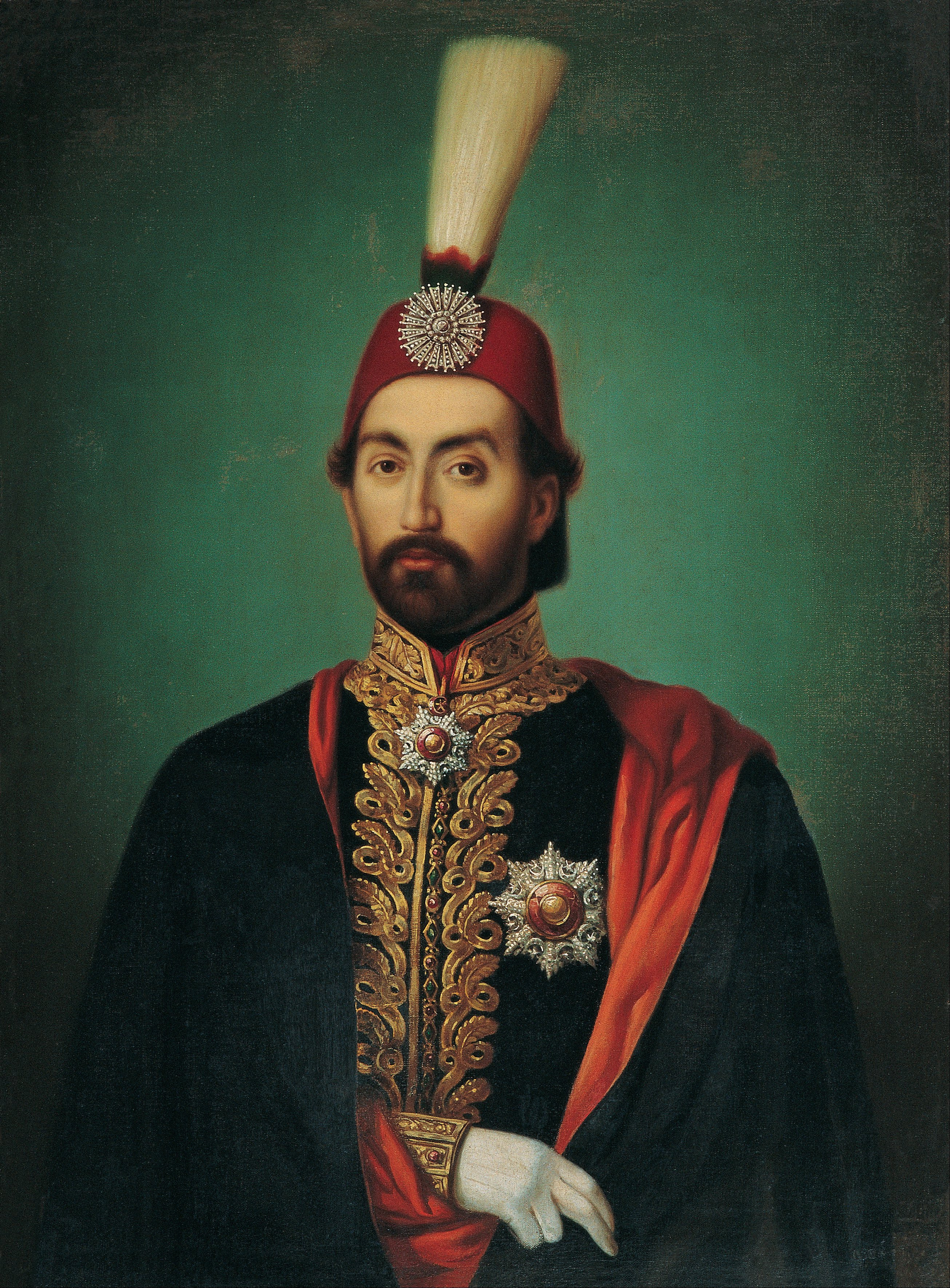 Empire Ottoman/دولتِ عَليه عُثمانيه  Sultan_Abdülmecid_-_Google_Art_Project