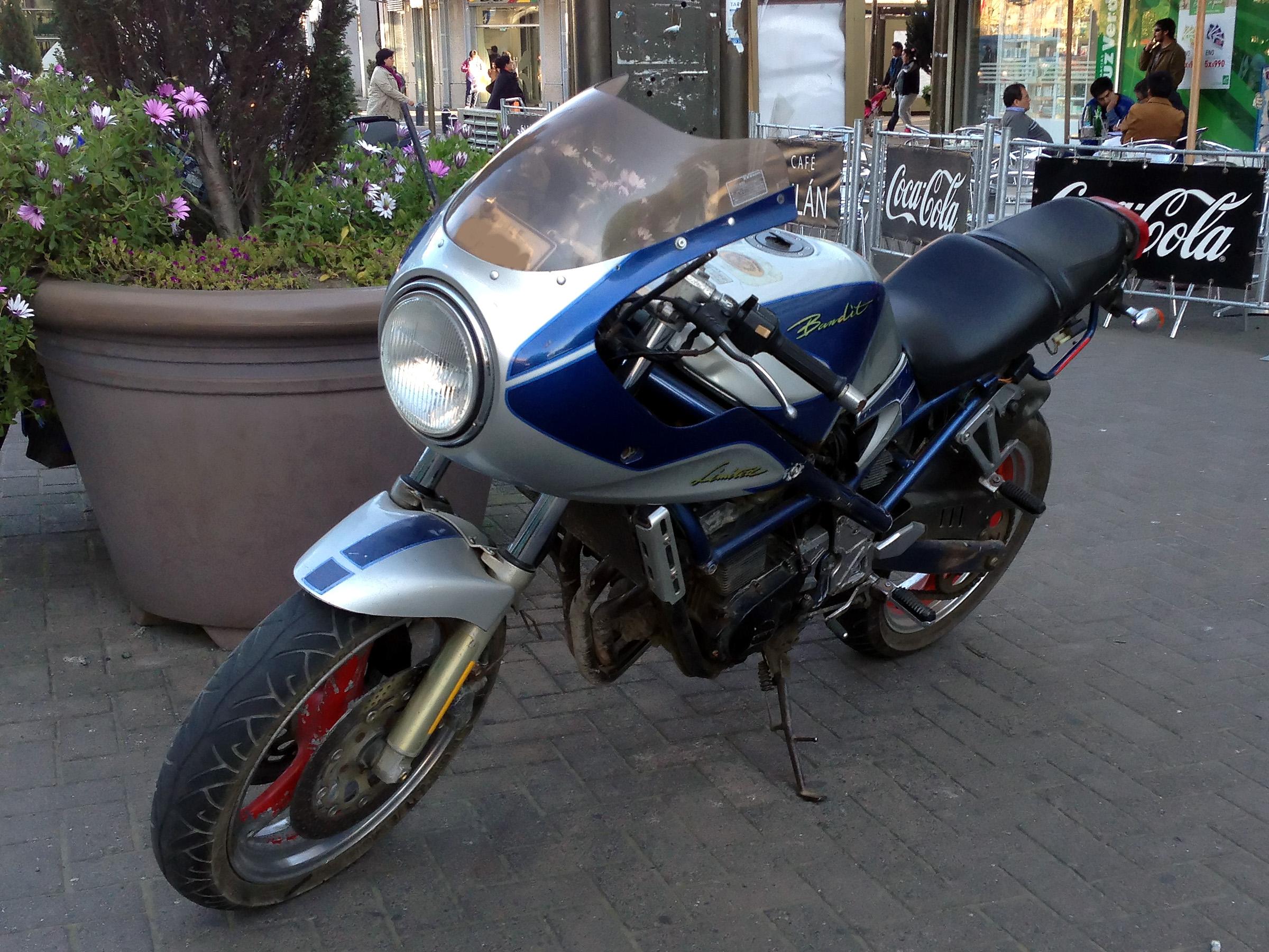 Suzuki Bandit 400 - briefly about the main
