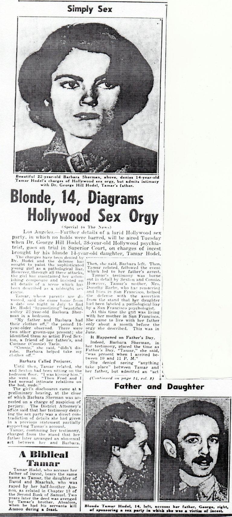English Newspaper article of Tamar.