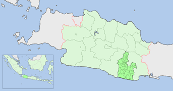 FileTasikmalaya Regency map locationpng Wikimedia Commons