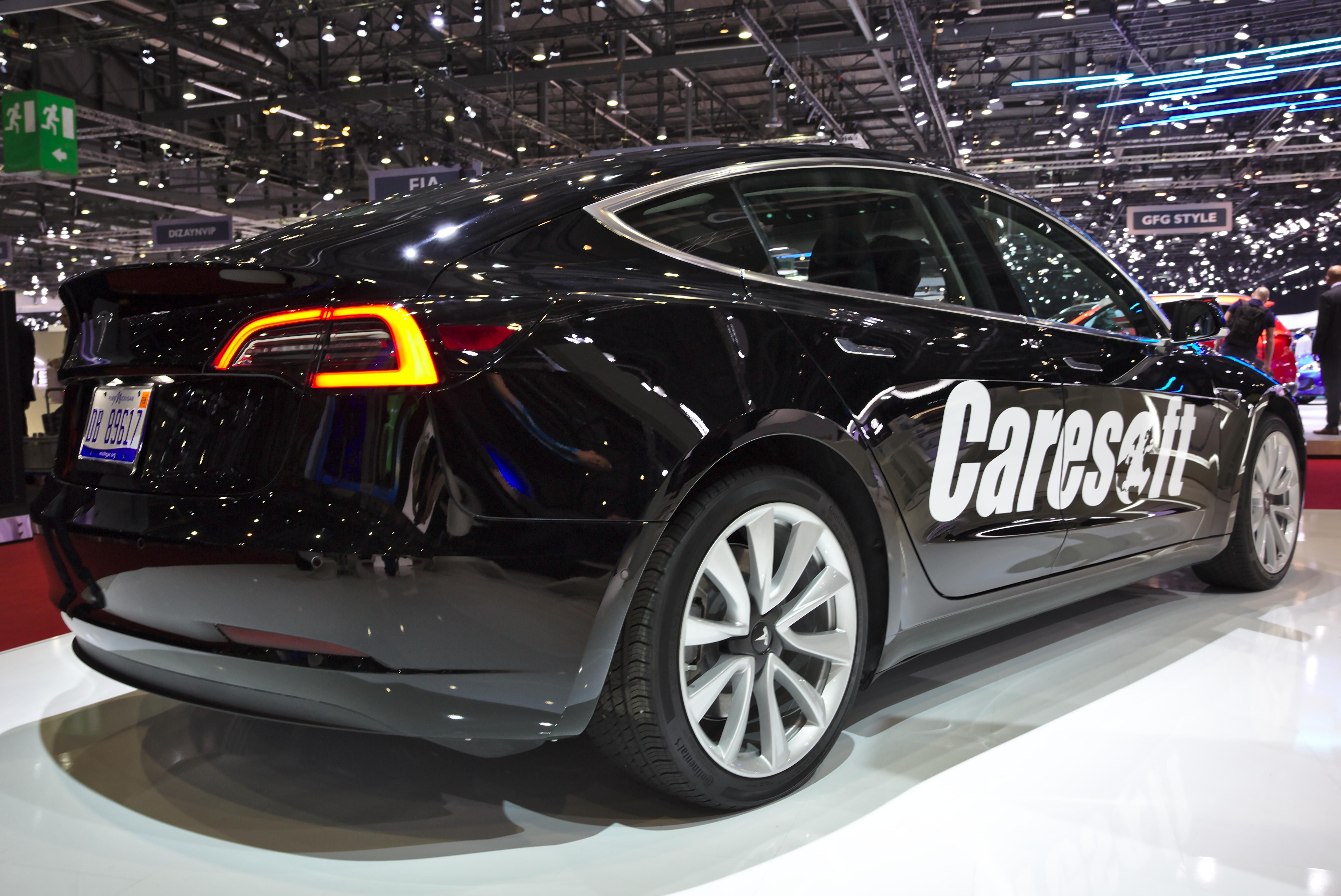 Juego de 4 tapacubos S /& X Tesla Model 3 Welcometo Tapacubos