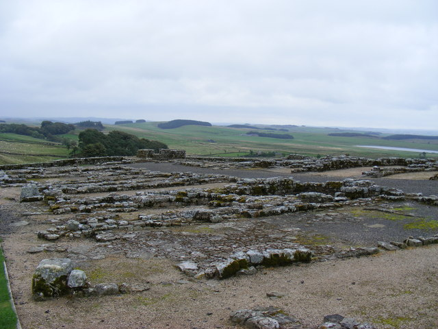 The Barracks at Housesteads Roman Fort - geograph.org.uk - 1533413