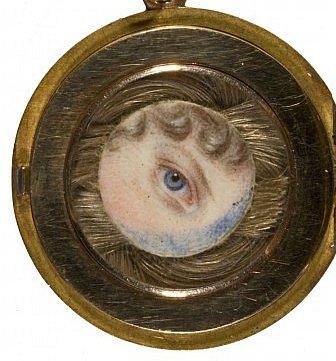 The Eye of Princess Charlotte of Wales, 1796 - 1817 by Charlotte Jones