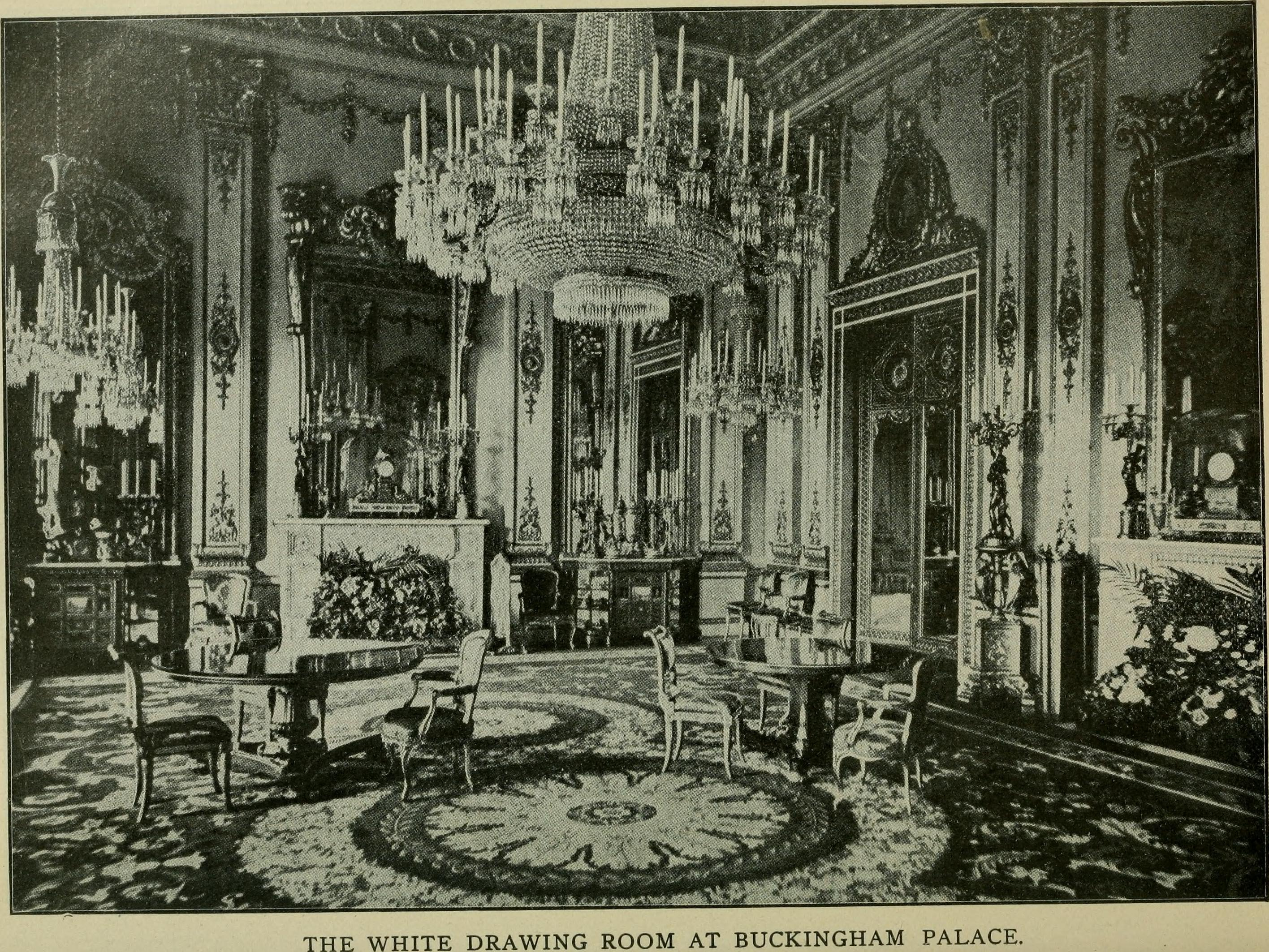 file the white drawing room at buckingham palace  c  1901