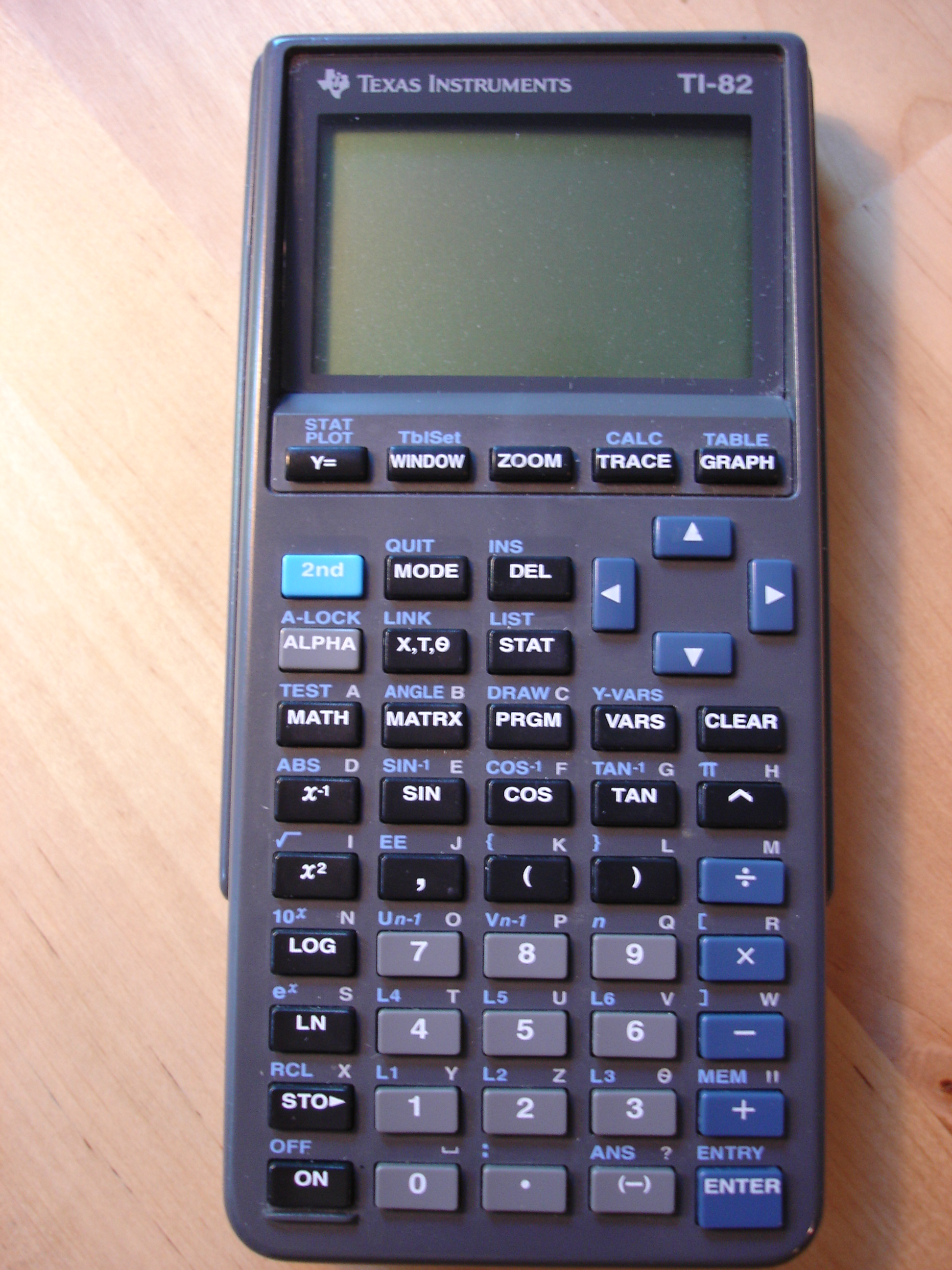 Texas Instruments TI-82 Graphing Calculator Guidebook Manual Guide ONLY