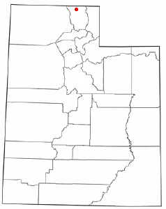 Location of Richmond, Utah