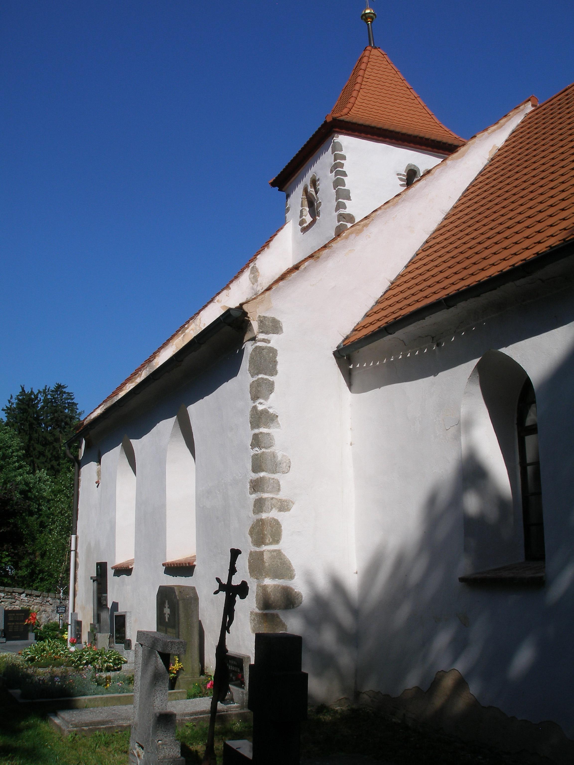 kostel sv. Voršily v Újezdci