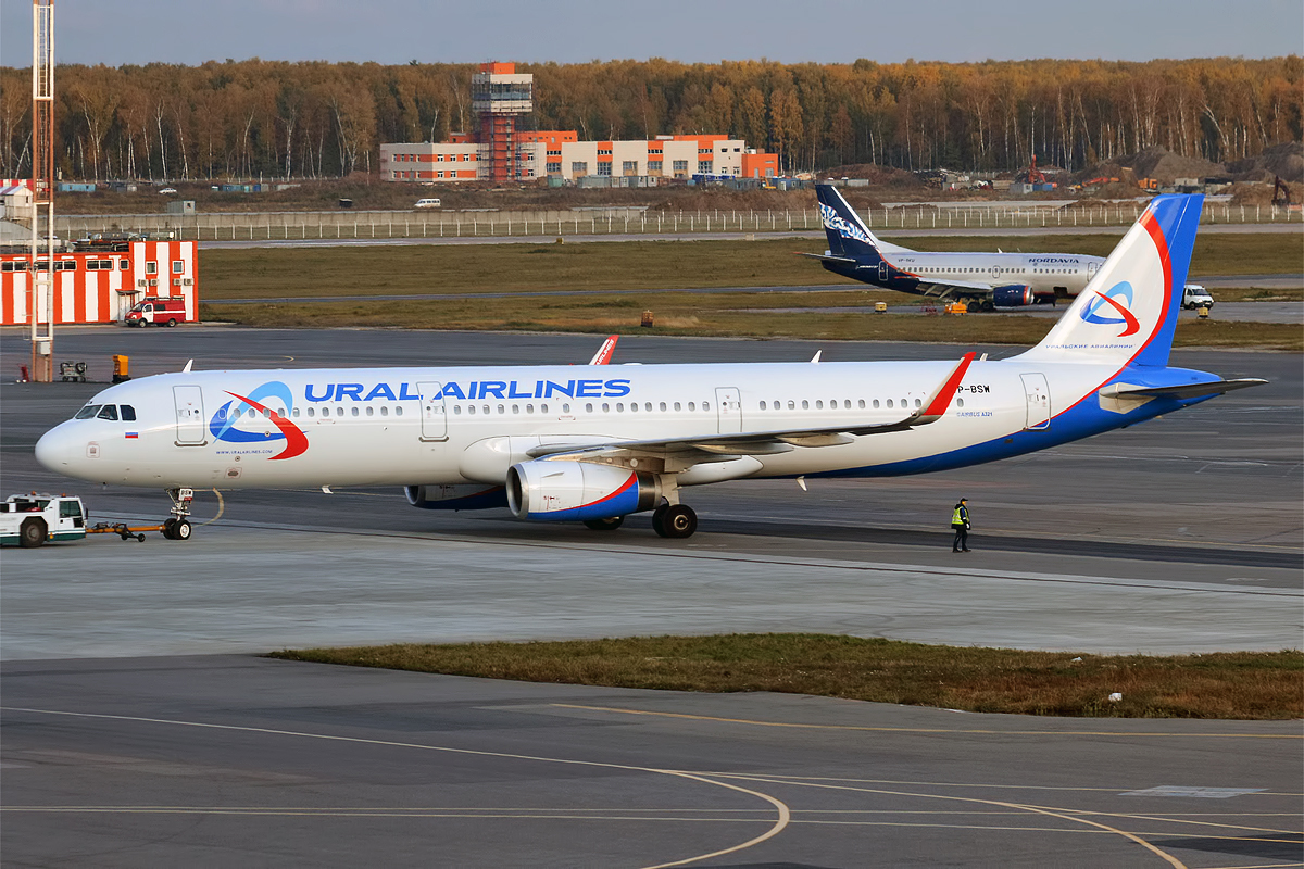 Punctual European Airlines in 2021 - Ural Airlines