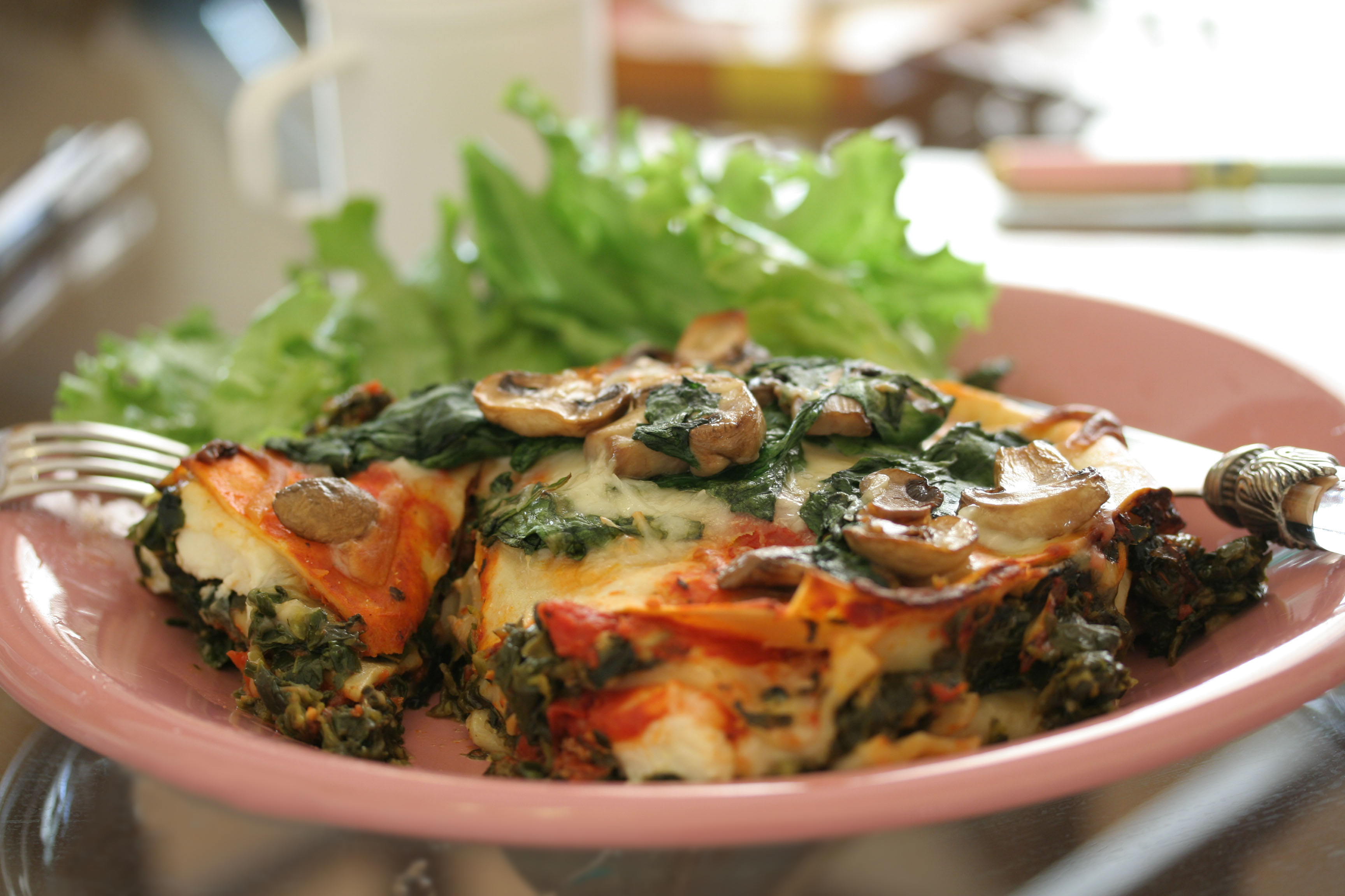 File:Vegan mushroom and spinach lasagna.jpg - Wikimedia Commons
