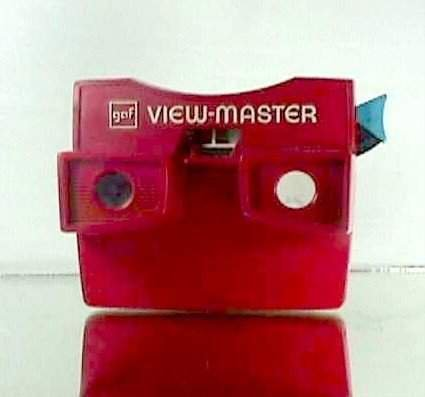 View Master Model G White & Red 001