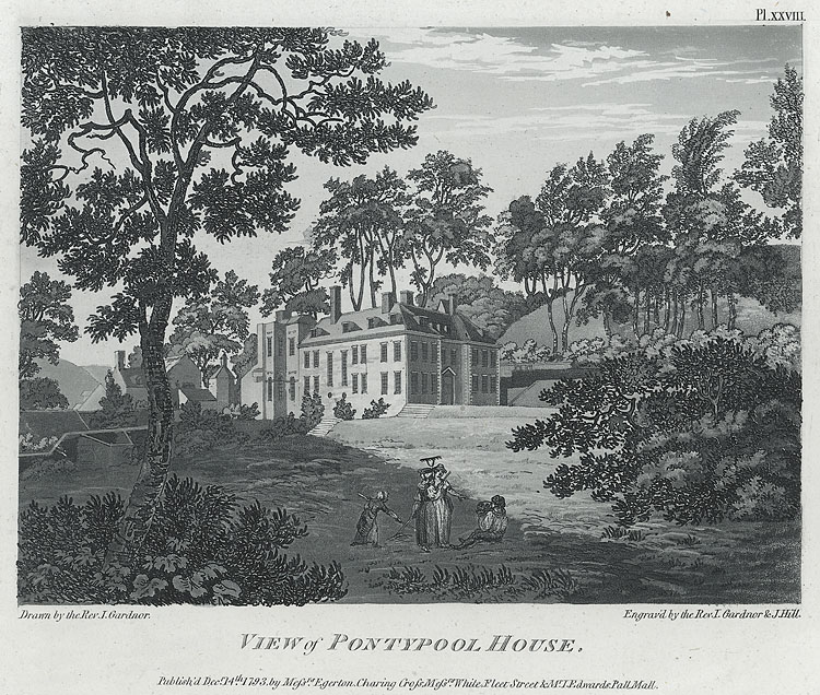 View of Pontypool House