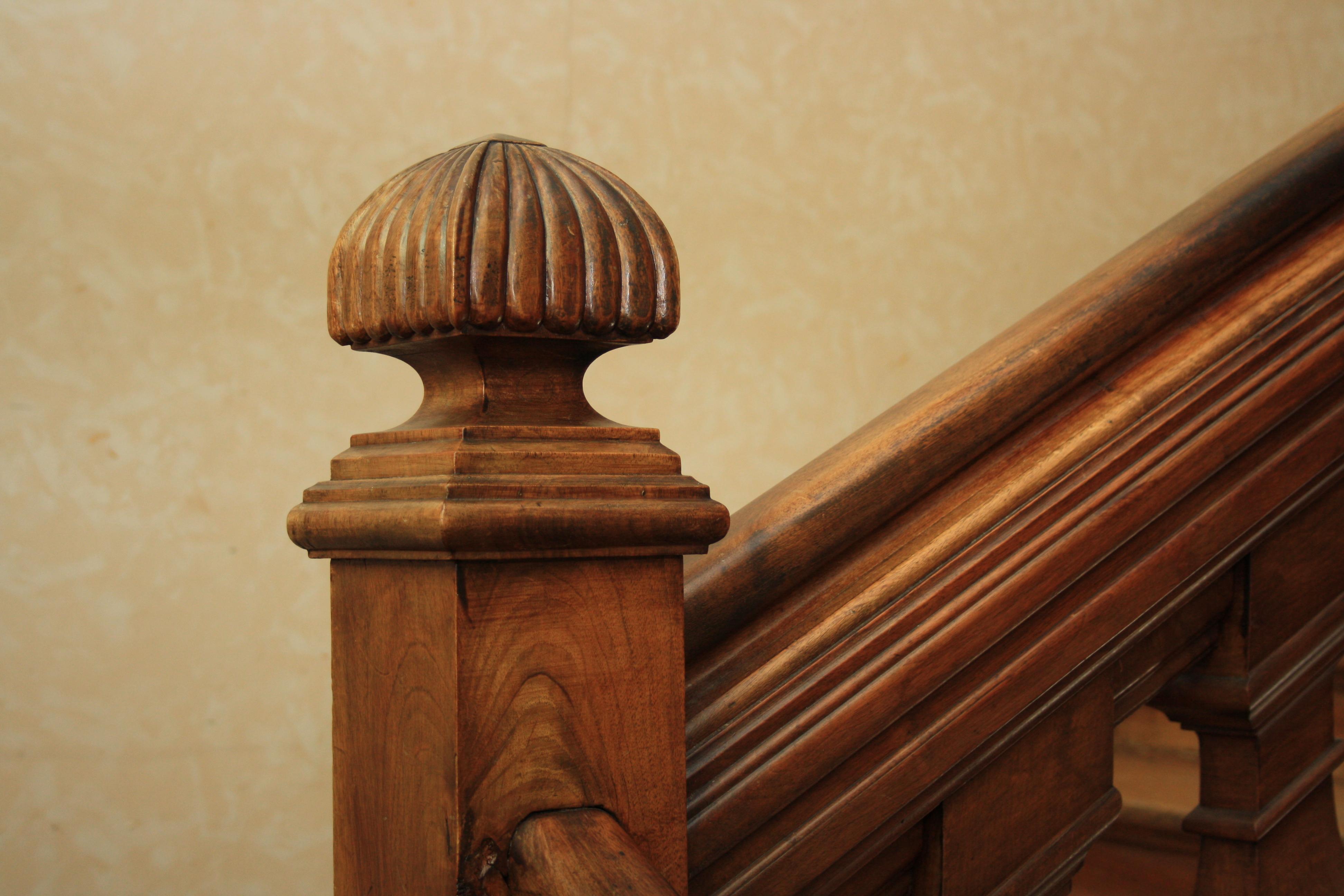 File Villa Saint Cyr Staircase Newel Cap Jpg